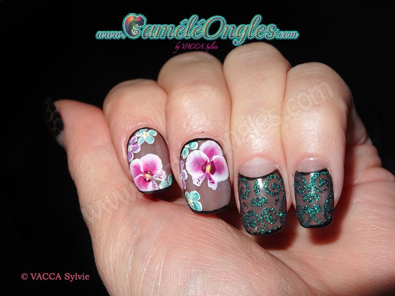 Ochidées et petites fleurs !!