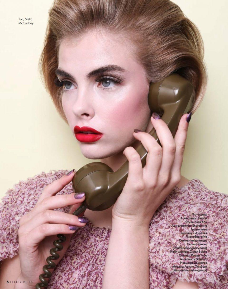 ELLE Girl Russia - July 2019 (Alexandra Leroy)