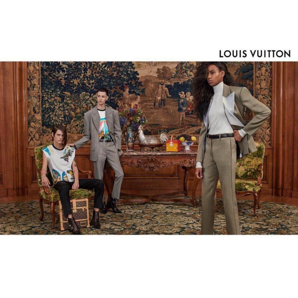 Louis VUITTON campaign ss19 (assisting Alexandra FALBA)(Collier SCHORR)